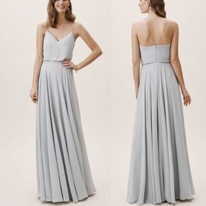 "BHLDN ""Jenny Yoo"" Inesse Gown in Whisper Blue"